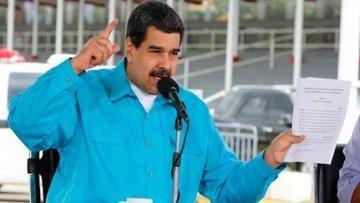 Venezuela'ya yaptırım kararı