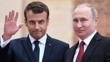 Macron ve Putin zirvesinde ne konuşuldu?