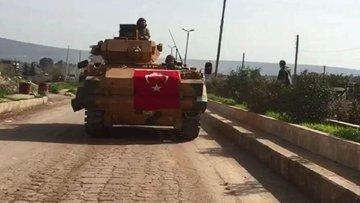 Türk askeri Menbiç sınırında
