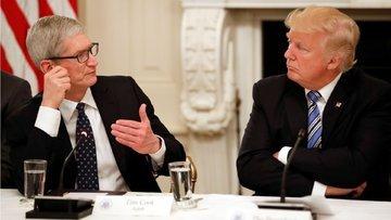 Trump'tan Apple'ın içini soğutacak açıklama