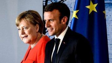 Merkel-Macron'dan euro için yeni sayfa
