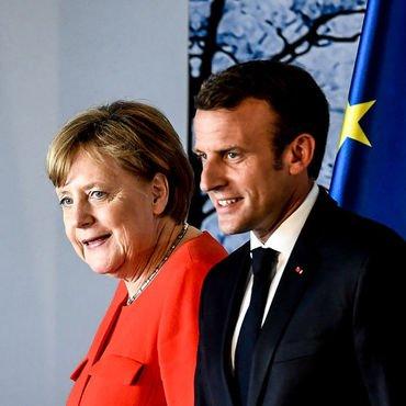 Merkel-Macron'dan euroya destek