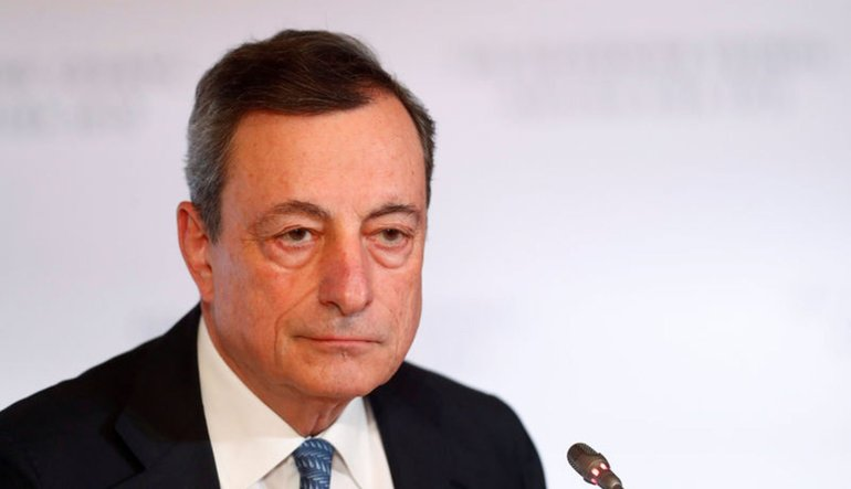 Draghi enflasyonun hedefe yaklaştığından emin