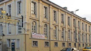 Mimar Sinan Güzel Sanatlar'da tahliye