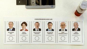 Cumhurbaşkanlığı seçimlerinde ilk sonuçlar