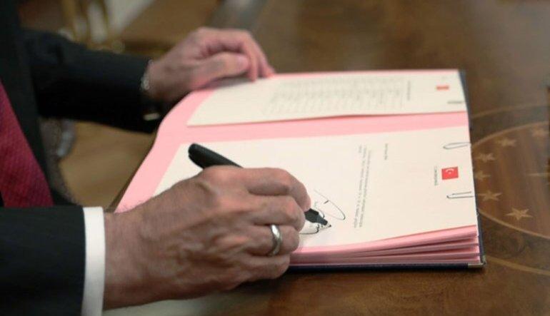 Cumhurbaşkanlığı'ndan yeni 7 kararname