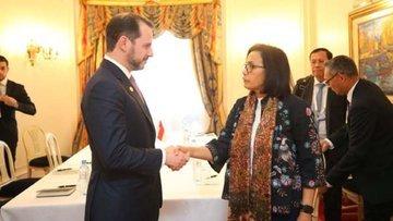 Albayrak'tan Arjantin'de yoğun diplomasi