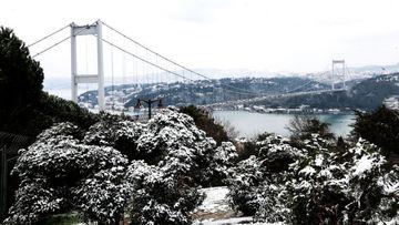 İstanbul'dan kar görüntüleri